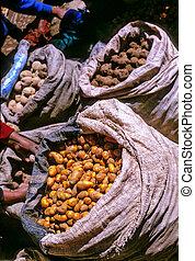 market-, peru