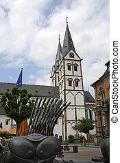 Market place in Boppard
