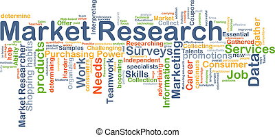 Market research background concept - Background concept...