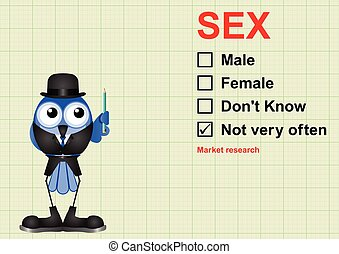 Market research sex - Market research questionnaire on graph...