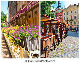 Market Square in Lviv (Lvov)