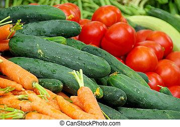 market stall for vegetable 01
