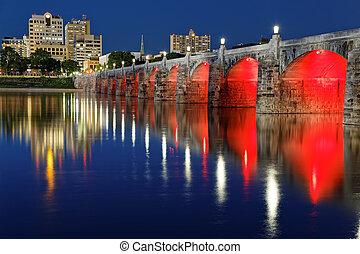 Market Street Bridge Harrisburg Pennsylvania