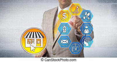 Marketer Presenting e-Pharmacy Profit Growth Model - ...