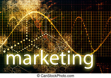 Marketing Abstract Technology Business Concept Wallpaper...