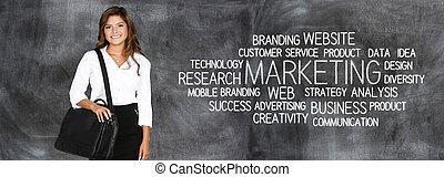 marketing, affari