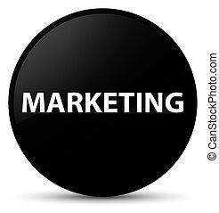 Marketing black round button