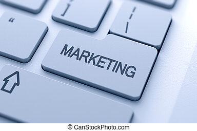 marketing, bottone