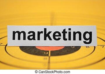 marketing, céltábla