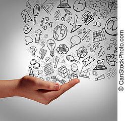 Marketing Communication - Marketing communication concept as...