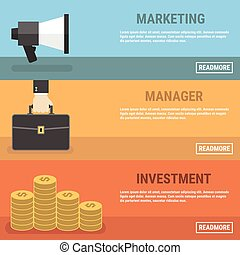 marketing, concept., digital