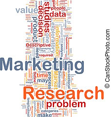 marketing, concetto, fondo, ricerca