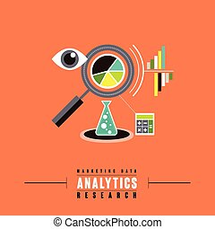 marketing data analytics concept