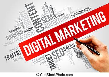 marketing, digitális