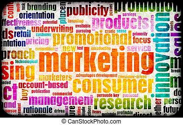 marketing, fundo