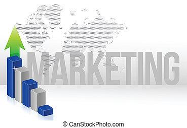 marketing, grafiek