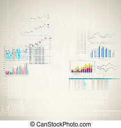 Marketing high tech background - Abstract high tech...