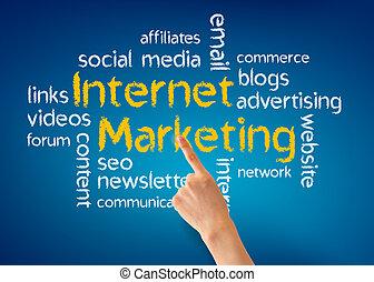 marketing, internet