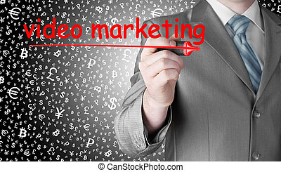 marketing, mann, video, geschaeftswelt, schreibende
