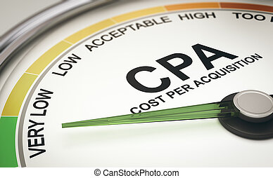 Marketing Metrics. CPA Cost per Acquisition Measurement,...