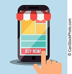 marketing online design, vector illustration eps10 graphic