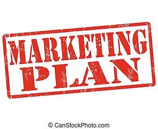 Marketing plan stamp