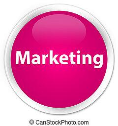 Marketing premium pink round button