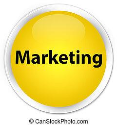 Marketing premium yellow round button