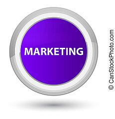 Marketing prime purple round button