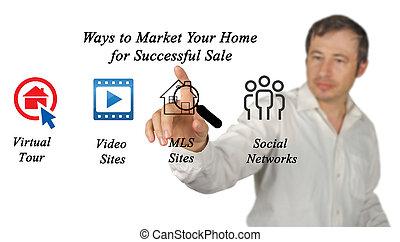 marketing, seu, lar