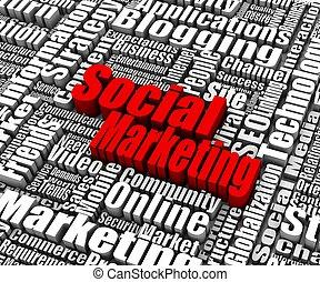 marketing, sociale