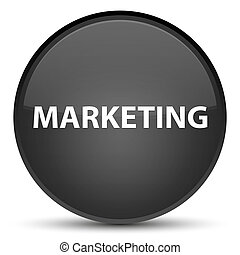 Marketing special black round button