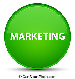 Marketing special green round button