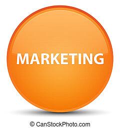 Marketing special orange round button