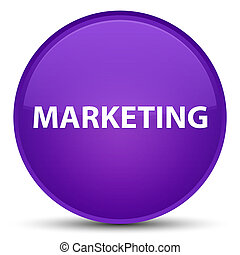 Marketing special purple round button