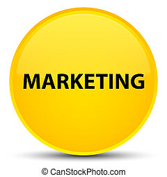 Marketing special yellow round button