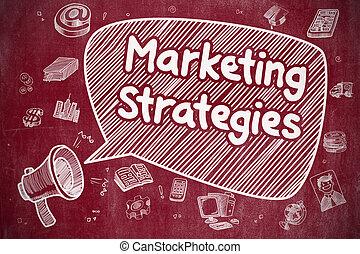 Marketing Strategies - Business Concept.