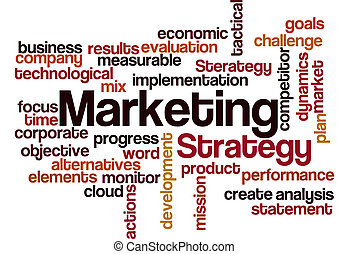 marketing strategy concept background