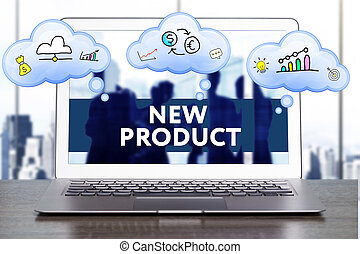 Marketing Strategy. Planning Strategy Concept. Business, technology, internet and networking concept. New product