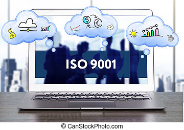 Marketing Strategy. Planning Strategy Concept. Business, technology, internet and networking concept. ISO 9001