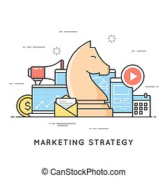 Marketing strategy, promotion campaign, advertising, planning.