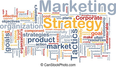 Marketing strategy word cloud - Word cloud concept ...