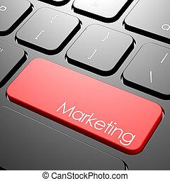 marketing, teclado