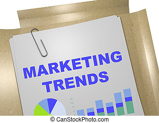 Marketing Trends - business concept