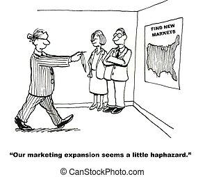marketing, uitbreiding