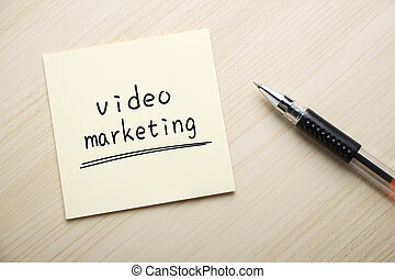 marketing, video