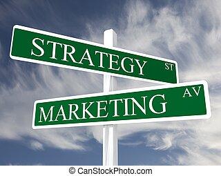 marketing, zakelijk, omzet