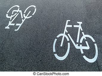 marking a cycle route