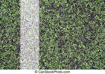 Marks on sports turf