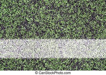 Marks on sports turf